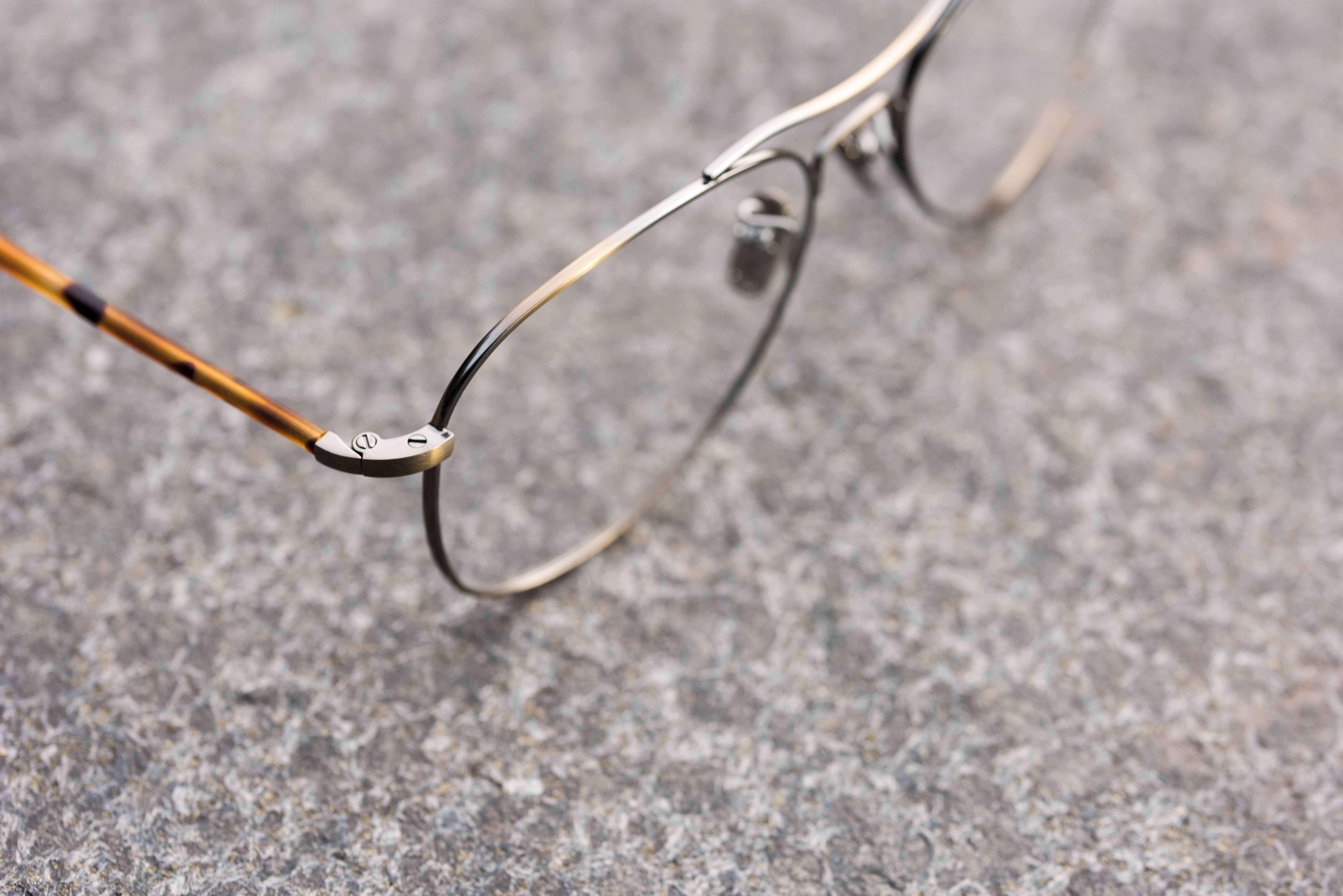 Lunor - Korrekturbrille: Modell : Aviator