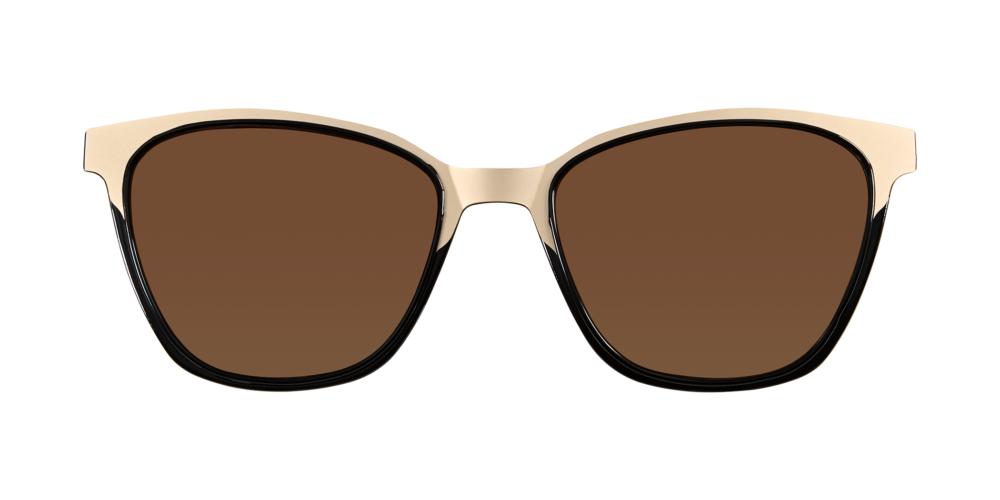 MODO ECO - Sonnenbrille EYERE CLIP-ON - Farbe - BLACK
