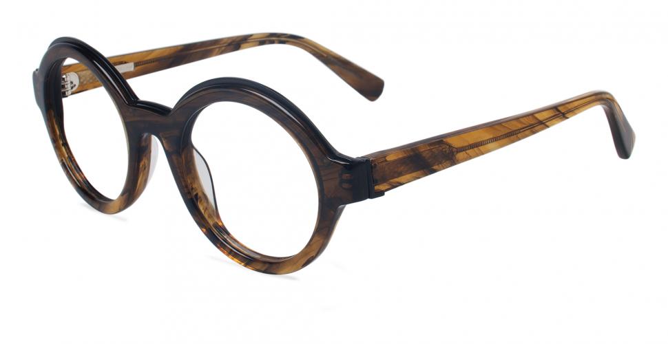 MODO Korrekturbrille DEREK LAM 259 - Farbe - CARAMEL STRIPES