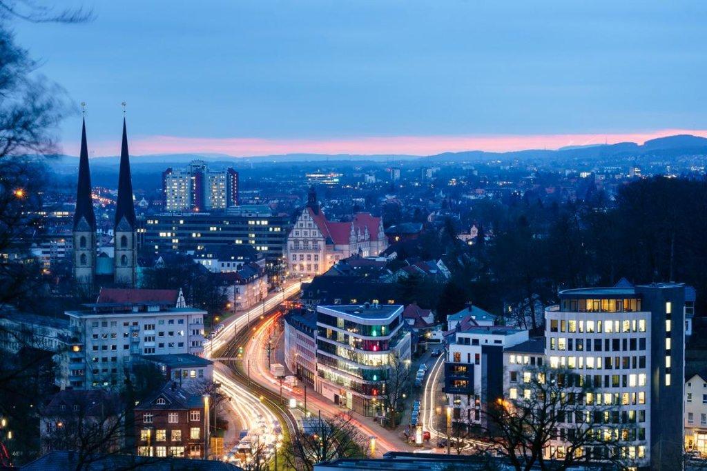 Aussicht vom Johannisberg, Bielefeld