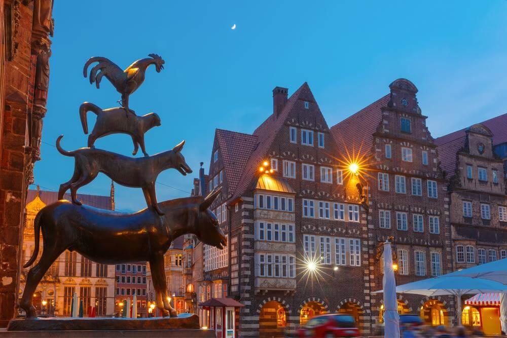 Stadtmusikanten am Rathaus, Bremen