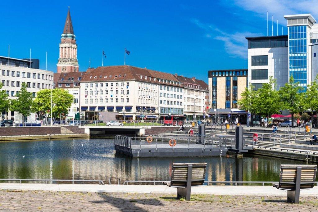 Innenstadt am Bootshafen, Kiel