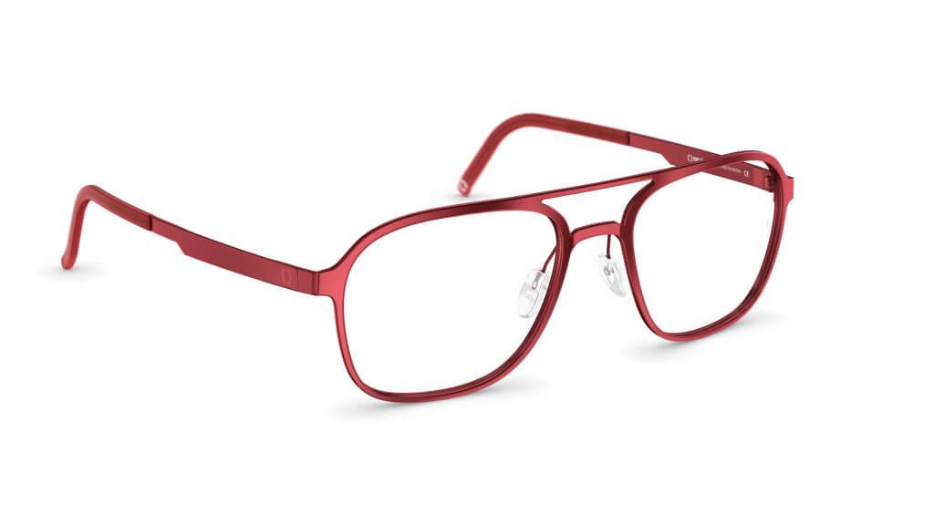 Top Brillenmarken 2018 - neubau EYEWEAR - rote Korrekturbrille