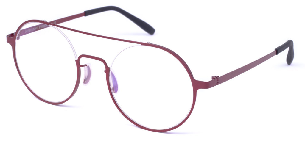 Duesseldorf_Eyewear-Wittlaer-Weinrot