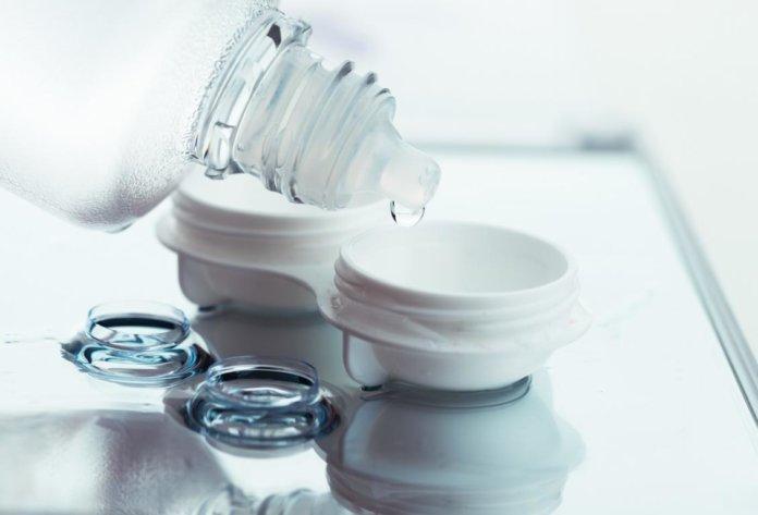 Kombilösung für Kontaktlinsen