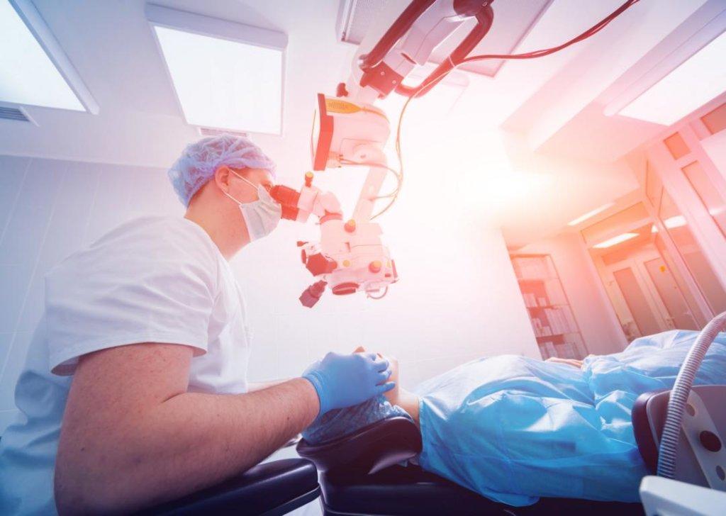 Laser-Iridotomie