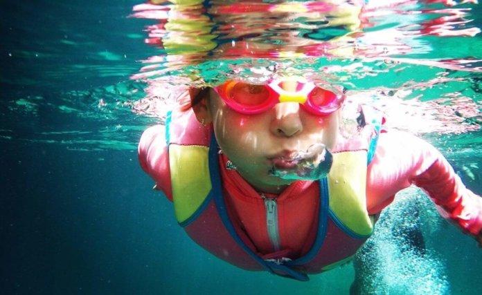 Schwimmbrille mit Sehstärke
