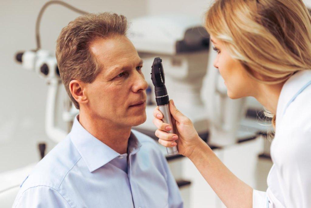 Blepharitis Untersuchungen und Diagnose