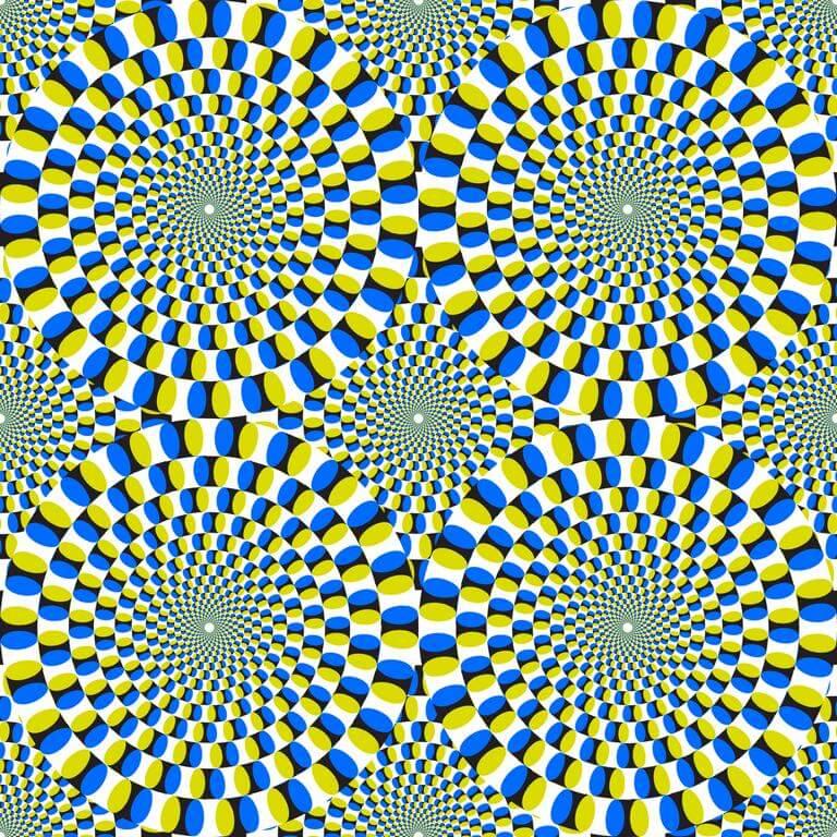 Optische Täuschung - Bewegte Bilder