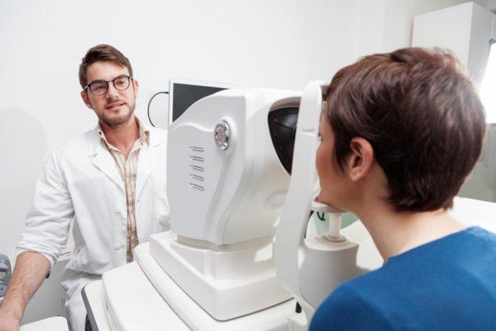 Optischen Kohärenztomographie zur Verlaufskontrolle bei bestehendem Glaukom