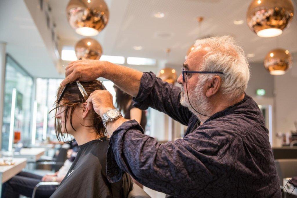 Udo Walz schneidet Haare