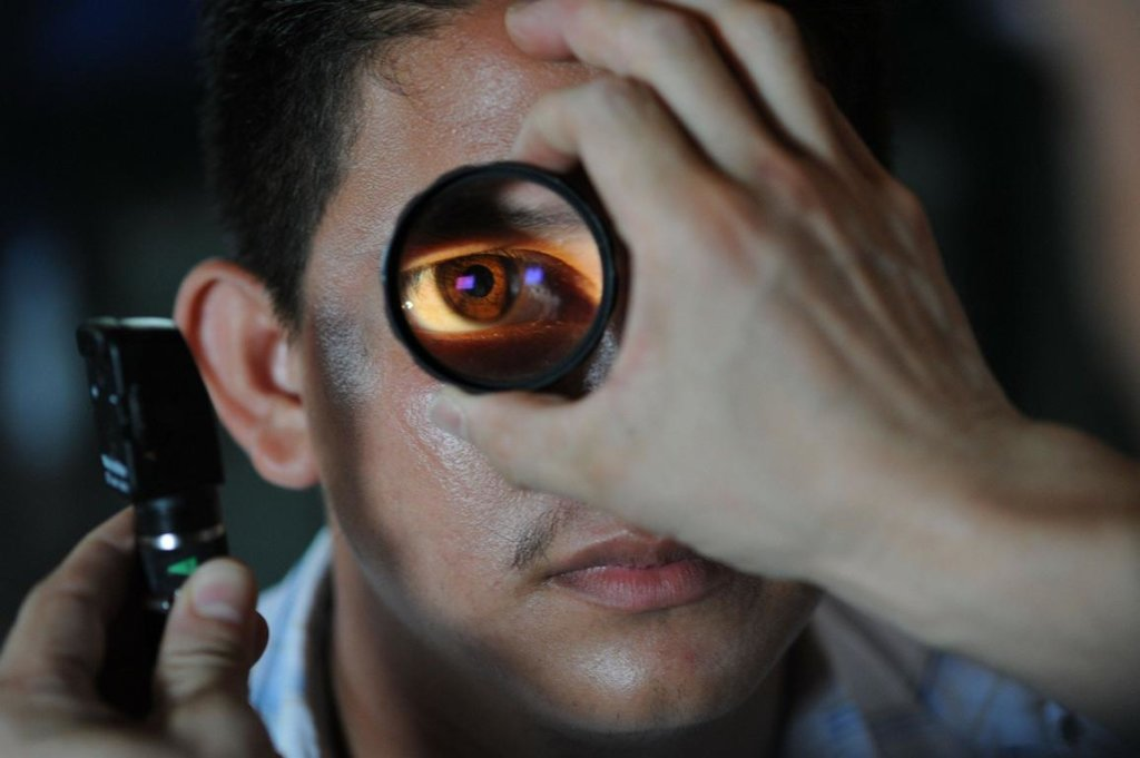 Augenschmerzen Diagnose