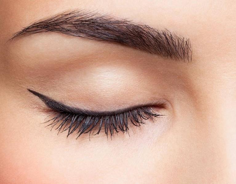 Lidstrich Auge