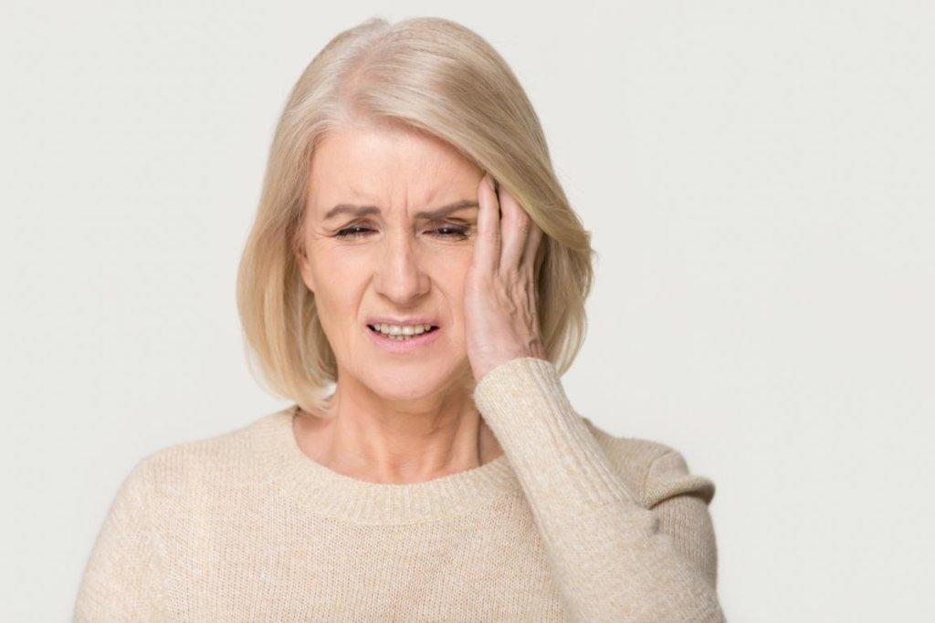 Stauungspapille: Symptome