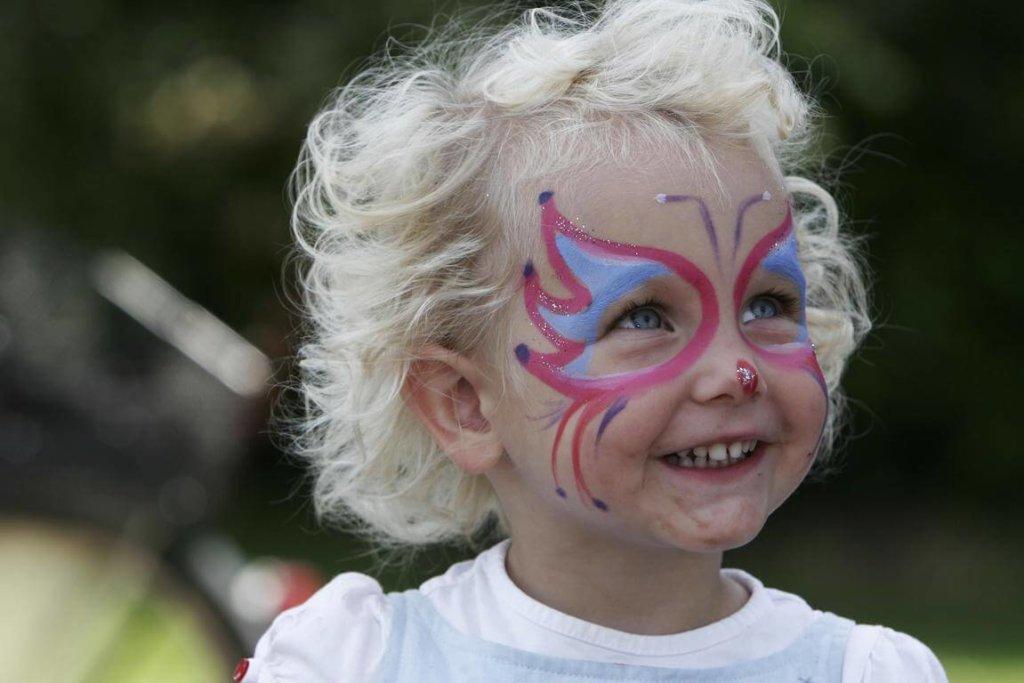 Kinderschminken – Vorsicht ist bei den Augen geboten