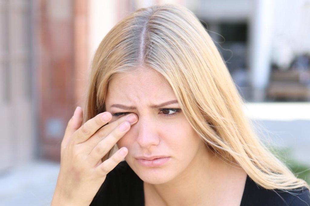 Pinguecula: Symptome