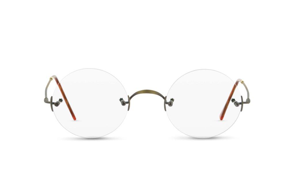 Korrekturbrille ohne Rahmen von Lunor Classic_rund_AG_01