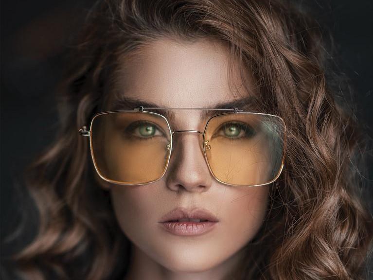 Eckige Brillen